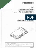 Pana AGV Manual