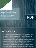 Reação Álcalis Agregados –RAS.pptx