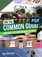 Green Manifesto 2015