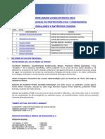 Informe Diario Onemi Magallanes 04.05.2015