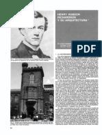 Henry Richardson y su arquitectura