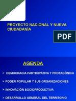 Proyecto Nacional y Nueva Ciudadanía