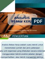 Analisis Beban Kerja