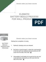 Battery Mould Process