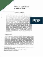 Daniel Gaido Karl Kautsky on Capitalism in the Ancient World