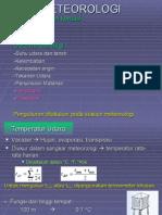 II - Meteorologi