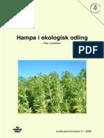Hampa i ekologisk odling