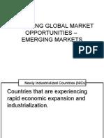 Assessing Global Market Opportunities