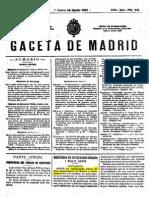 Reglamento Conservatorio de Madrid de 1917 (7 Pag) (GM 24-08-1917)