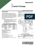 Dual Switches Honeywell