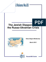 The Jewish Diaspora and the Russo-Ukrainian crisis