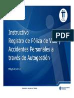 Insstructivo Registro Pólizas