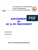 Parts of Automotive Alternator