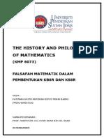 Falsafah Matematik dalam Pembentukan KBSR dan KSSR