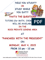 Pancakes With the President Sp15