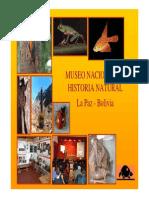 Museo Historia Natural La Paz Bolivia