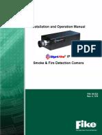 Manual de instalación y operación cámaras Fike Signifire