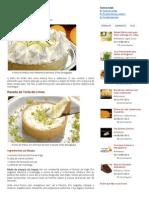 Torta de Limão - Receita Do Dia
