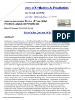 State-Of-The-Science Review of Transtibial Prosthesis Alignment Perturbation - Journal of Prosthetics and Orthotics, 2009 _ American Academy of Orthotists & Prosthetists