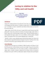 Green Manuring for Improving Soil Health