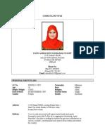 Resume Fatin