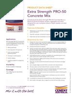 Cement Australia - Extra Strength PRO-50 Concrete Mix