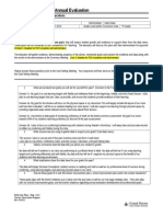fall 2014 planning document (annual evaluation) - elementary