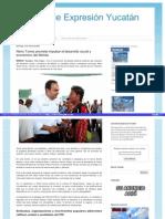 04-05-2015 Nerio Torres promete impulsar el desarrollo social y económico de Mérida.