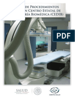 Guia de procedimientos para un Centro de igeniería Biomedica