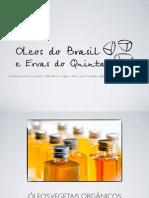 catálogo de produtos Óleos do Brasil