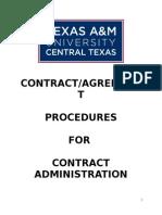 CONTRACT Procedures