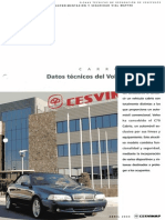 Datos Técnicos Del Volvo C70 Cabrio