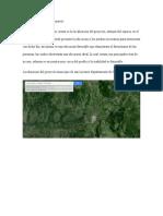 Micro Localización Del Proyecto