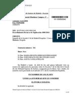 Sentencia TSJ Sala de Lo Social Despido de Luis Bárcenas