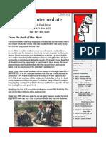 Intermediate Newsletter May 2015