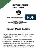 1. NON LINIER FARMAKOKINETIK 2014.ppt