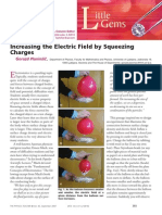 Increasing the Electric Field