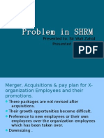 Problem in SHRM