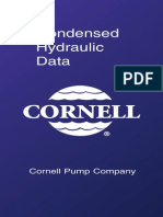 Condensed Hydraulic Data: Cornell Pump Company
