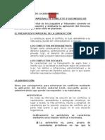 Desarrollo General de Derecho Procesal Administrativo