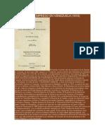 Primer Libro Impreso en Venezuela