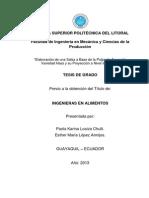 TESIS LOPEZ-LOAIZA Salsa de Aguacate. Presentacion