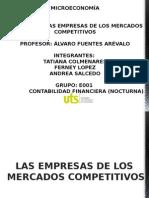 7.La Empresa de Los Mercados Competitivos