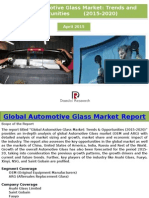 Global Automotive Glass Market