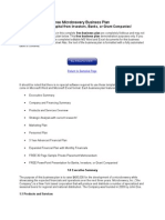 Ree Microbrewery Business Plan