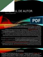 Dreptul de Autor