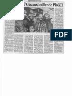 E Wojtyla Sull'Olocausto Difende Pio XII