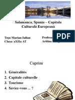 Tesu Marian - Salamanca , Spania – Capitala Culturala Europeana 1