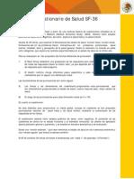 Cuestionario de Salud SF-36