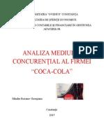Analiza Mediului Concurential Coca Cola